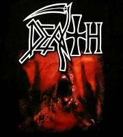 DEATH cd cvr THE SOUND OF PERSEVERANCE Official 2-SIDED SHIRT XL new