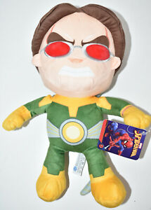 """Official Dr Octopus Marvel Comics Spiderman Villains 12"""" Plush Soft Toy NEW TAGS"""