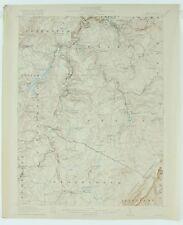 RARE  1770 PA MAP Mifflinville Berlin Windber Nanty Glo PENNSYLVANIA HISTORY big