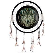 Traumfänger Keltischer Wolfskopf 60 cm B-Ware Wölfe Indianer Deko Dreamcatcher