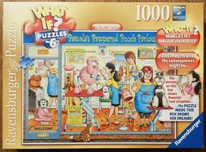 Ravensburger 1000 piece jigsaw puzzle 'What if' The Pet Parlour