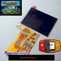 Para Game Boy Advance GBA 10 Niveles Brillo IPS Pantalla TFT Kits Set Recambios