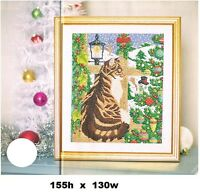 CHRISTMAS WINDOW    -     CROSS STITCH PATTERN  ONLY -  ALSAR