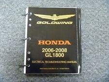 2006-2008 honda goldwing gl1800 motorcycle electrical wiring diagram manual  2007