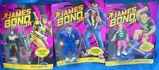 James Bond Jr MOC MIP Action Figure Lot Hasbro Jaws Gordo Leiter Ninja Gear Bond