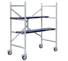 MetalTech 4 ft Scaffold 600 lb Capacity Scaffolding Rolling Drywall Platform New