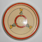 Roseville Pottery Juvenile Creamware Sunbonnet Girl Baby Plate