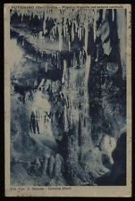 cartolina PUTIGNANO grotte-pilastro gigante nel salone centrale