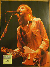 Kurt Cobain, Nirvana, Courtney Love, Double Full Page Vintage Pinup