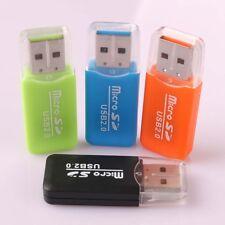 High Speed USB 2.0 Micro SD TF T-Flash Memory CARD READER LETTORE DELLA SCHEDA