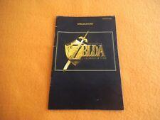 Zelda Ocarina of Time Anleitung Nintendo 64 Beschreibung Manual