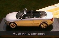 AUDI A4 3.0 QUATTRO CABRIOLET ARGENT NOREV SILVER 1/43 ROADSTER NEW ARGENTE 2002