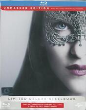 Fifty Shades Darker (Steelbook+DVD Bonus) (Blu-ray) Region A **
