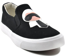 Tanggo Sandy Fashion Sneakers Women's Rubber Shoes Slip-On (black)