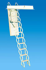 M2236 Rainbow Prestige Telescoping Attic Stair - White