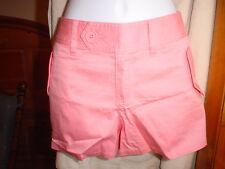 Victorias Secret Vintage Cotton Twill Shorts Size 4  Pink NWOT