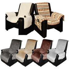 Polsterschoner Sesselbezug Sesselschoner Sesselauflage Fernsehsessel Lammflor