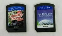 PSVITA - Lot of 2 - Little Big Planet & Hot Shots Golf - World Invitational