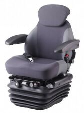 KAB 85/E6 Deluxe Tractor Seat Air Suspension 12V inc Swivel, headrest, armrests