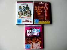 DVD Sammlung 3 Erotikfilme mit Ingrid Steeger bekannt aus TV-Serie Klimbim