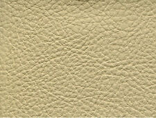 PRODIGY!! CREAM PREMIUM MARINE/AUTO/UPH/ FAUX LEATHER VINYL BY THE YARD