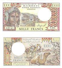 Djibouti 1000 Francs p-37e 1991 UNC