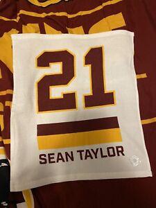 Sean Taylor Redskins #21 Retirement Rally Towel 10/17/21 vs Kansas City Chiefs