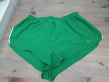 Green sprinter--cut running shorts by Nike, size 2XL