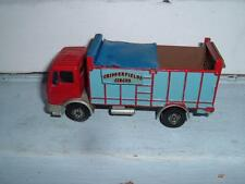 SOLIDO MERCEDES TRUCK 1/55 CONVERTED INTI CHIPPERFIELDS CIRCUS STUDY PHOTOS