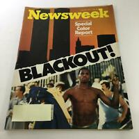 Newsweek Magazine: July 25 1977 - Special Color Report Blackout!