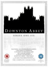 Downton Abbey: The Complete Collection DVD (2016) Hugh Bonneville ***NEW***
