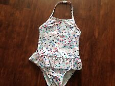 NWT BABY GAP TODDLER GIRL ONEPIECE SWIM SUIT 3 YEARS MINT/HEART