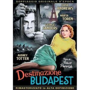 DESTINAZIONE BUDAPEST DVD