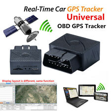 Universal Car Vehicles GPS GSM GPRS Real Time Tracker OBDII OBD2 Tracking Device