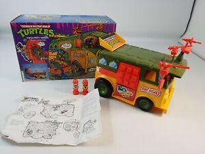 Party Wagon Teenage Mutant Ninja Turtles TMNT Playmates Original Boxed Complete