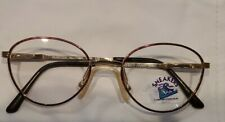 AUTHENTIC SNEAKERS EYEWEAR FRAME ITALY DYLAN TOR 125 GOLD/BROWN FLEXPADS $99.50.