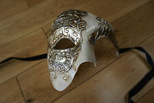 Venetian Unisex, men's, ladies Phantom/Half face Mask.Masquerade/Ball/Prom. UK.