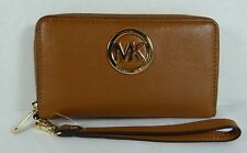 Michael Michael Kors Fulton Luggage Flat Multi Function Phone Case Wristlet