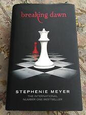 "The Twilight Saga ""Breaking Dawn"" Hardback Book By Stephenie Meyer 2008"