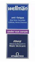 Wellman Under Eye Serum Anti Fatigue - 15ml Men - Aloe Vera Cucumber Caffeine
