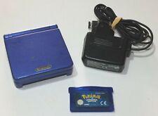 Console Gameboy Advance SP Pokemon Kyogre + Pokemon saphir