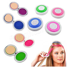 4 Color Fashion Temporary Pastel home wash out Hair Chalk Dye cake party Disco