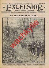 Excelsior n°1628 du 01/05/1915 Venizelos Joffre col d'Uzsok