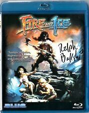 Fire and Ice BluRay SIGNED by Ralph Bakshi, disc has a ton of extras, fast shipp