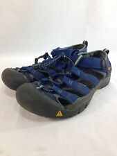 Keen Newport Sport Sandals Shoes Mens 6 Blue Trail Hiking Comfort Waterproof