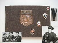 Soviet soldier's military photo album  .Red Army. Cold War.1984 -1986s USSR