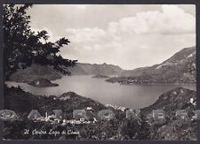 COMO LAGO DI COMO 09 Cartolina FOTOGRAFICA viaggiata 1963