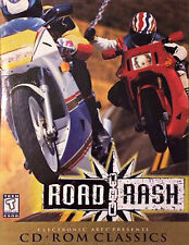 EA Road Rash CD-ROM Classics (PC, 1997) Computer Video Game Vintage