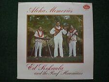 Aloha Memories Ed Kekaula & The Reef Hawaiians~AUTOGRAPHED~Hawaiian Traditional