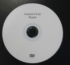 NEW General Clock Repair DVD by Bruce Rasmessum (VDO-101)
